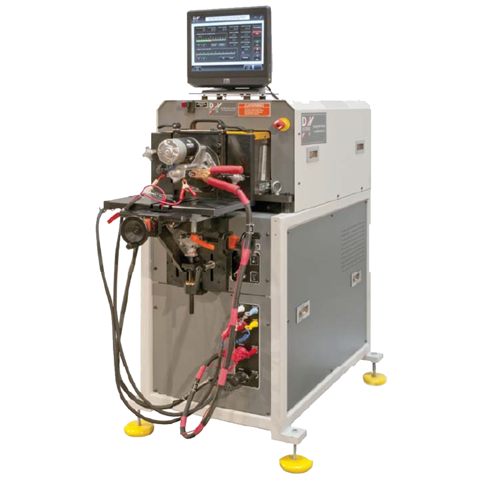 Photo of ST-6 testing system
