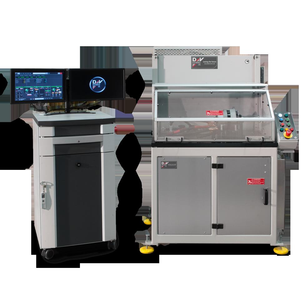 Photo of BSG-186 testing system
