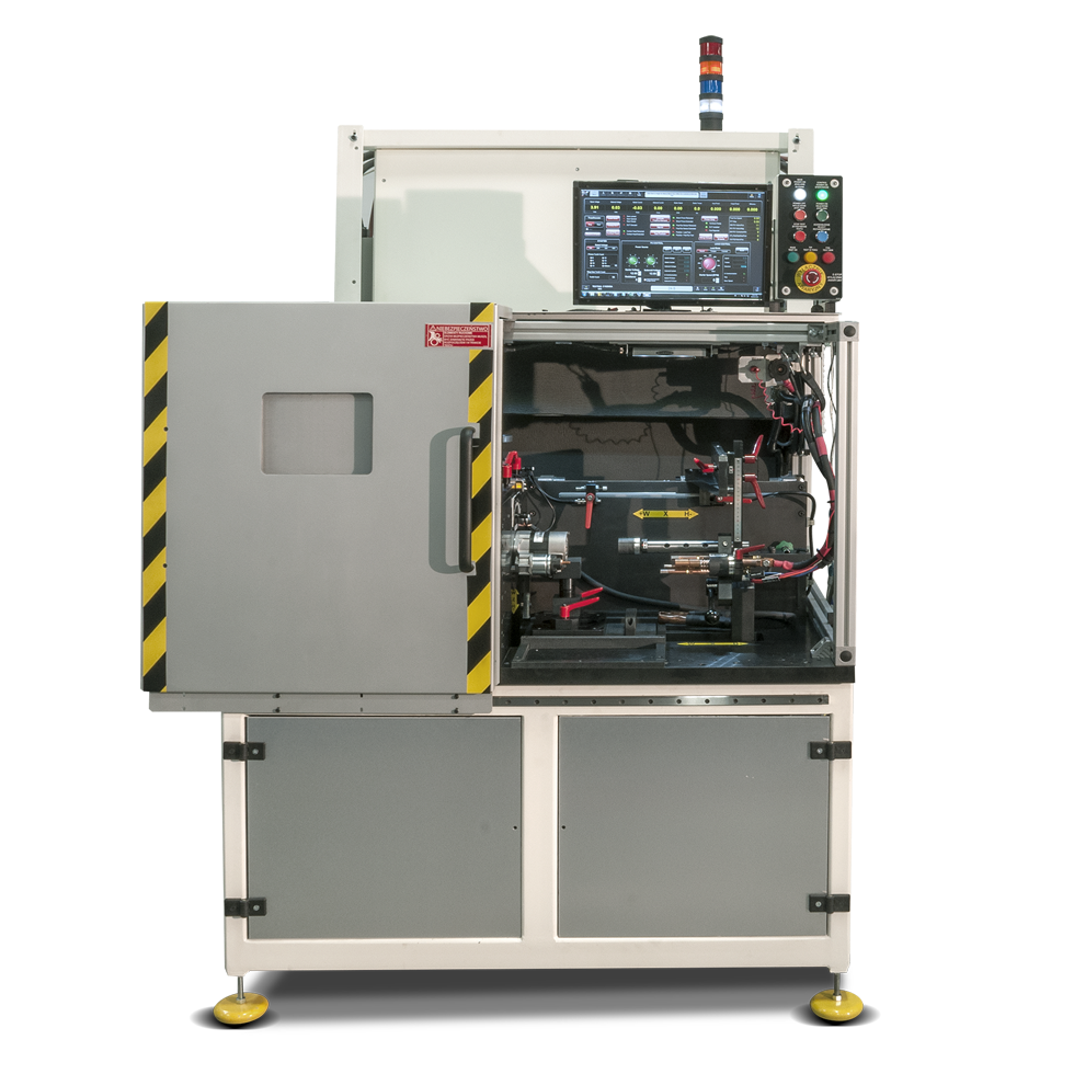Photo of SST-120 testing system
