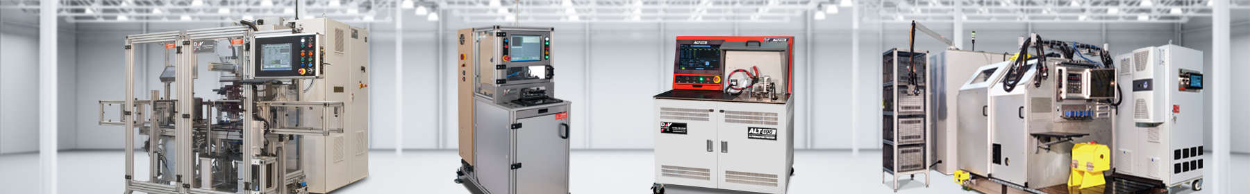 Photo of solenoid, alternator, and power train testing systems